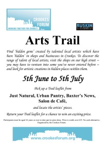 Arts Trail final poster