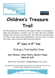 Children's Treasure Trail final poster