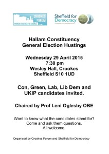 Hustings Flyer 2