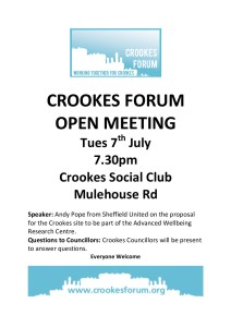 Open Meeting Poster 7th July 2015