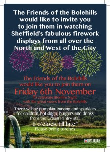 Bole Hill Firework sponsorship